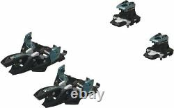 Marker Alpinist 8 Alpine Touring Bindings One Size Blk/Turquoise NEW 2021