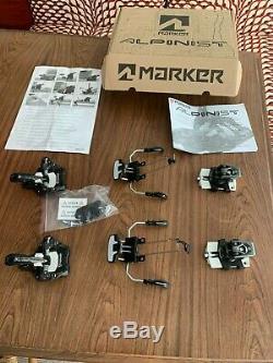 Marker Alpinist 9, Ski Touring Binding, 105MM, Black