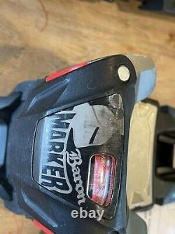 Marker Baron touring AT / alpine frame ski bindings size large 110 brake DIN 12
