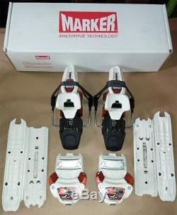 Marker Jester 16 Demo Ski Bindings 90mm & 110mm Brake Copper/White 2014 NEW