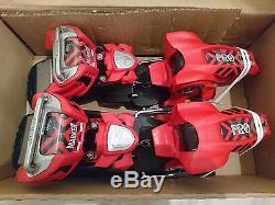 Marker Jester 18 Pro Ski Bindings (Red, 90mm) Mens Unisex All Mountain Freestyle
