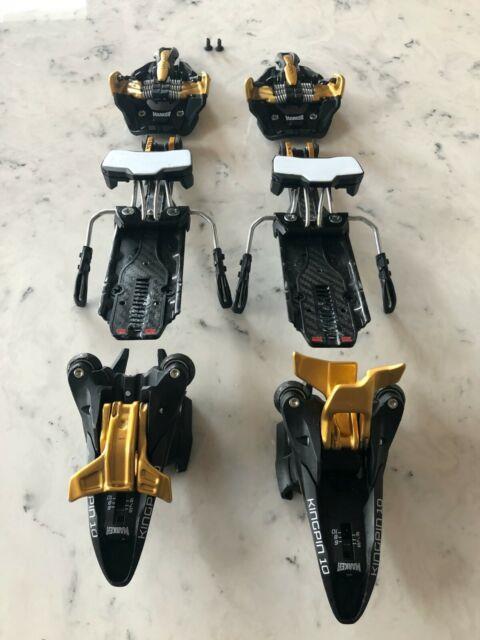 Marker Kingpin 10 Ski Touring Bindings Black/gold