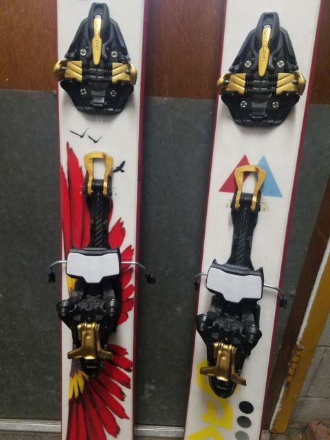 Marker Kingpin 13 Alpine Touring Ski Bindings, 100-125mm Brakes