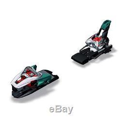 Marker Race XCell 16 White/Black/Teal 85mm Ski Bindings
