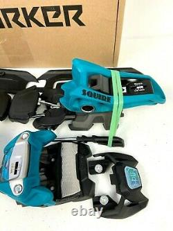 Marker Squire 11 ID Bindings 2021 Teal NIB 110mm Brake Alpine Ski