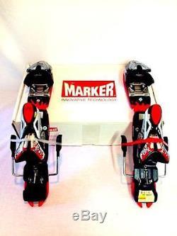 Marker Titanium 12.0 Free Wide Black Red Snow Ski Bindings NEW