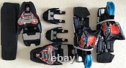 Marker Xcell 16 ski race binding and box will fit marker world cup piston plate
