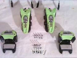 Marker jester Pro Ski Bindings. 130 mm Brakes. DIN 8-18