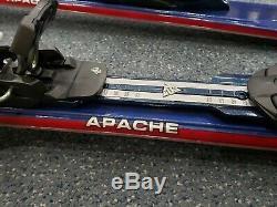 Men's K2 Apache Ranger 167cm Skis with Marker MOD 10.0 Bindings Pre-owned