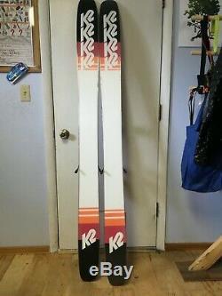 Mens 2018 K2 Catamaran Skis 184 cm with Marker Griffin Demo Bindings
