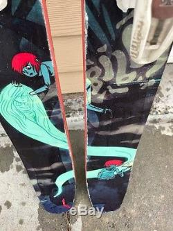Moment Bibby Pro 184cm skis with Marker Jester Bindings