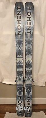 Moment PBJ Skis 182 cm Marker Griffon Schizo Bindings Lightly Used