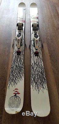 Mr Pollard's Opus Line Skis 185cm with Marker Duke Bindings and Colltex Skins