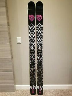 NEARLY NEW Black Crows Corvus skis 183 cm + Marker Jester bindings
