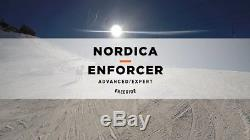 NEW 2017 Nordica Enforcer 100 Skis 169cm + Marker Griffon D Binding 0A6142000
