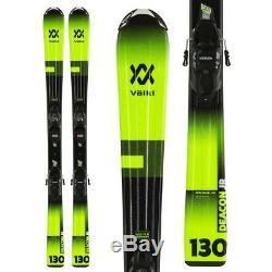 NEW! 2020 Volkl Kids Deacon Skis w Marker 4.5 Bindings-110cm