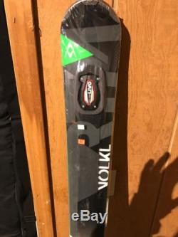 NEW Volkl RTM 84 UVO Ski with IPT 12. O Marker Binding 172 cm