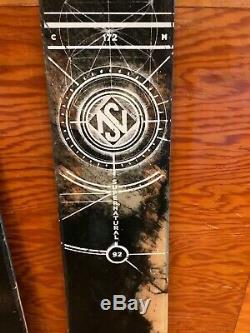 NICE Line Supernatural 92 172 cm Men's skis with Marker Griffon demo bindings