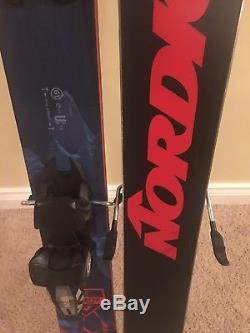 NORDICA ENFORCER 100 SKIS 185 cm with Marker Griffon bindings 2018