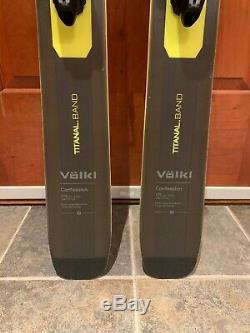 New 18-19 Volkl Confession Men's Ski withMarker Griffon Binding. Size 179cm