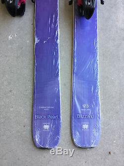 New 2017 Blizzard Black Pearl Women Skis 173cm with Marker Squire Bindings