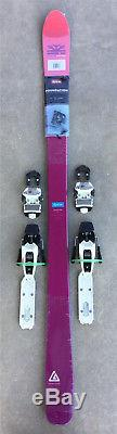 New 2017 DPS Foundation Uschi 82 skis 168cm with Marker Squire Bindings