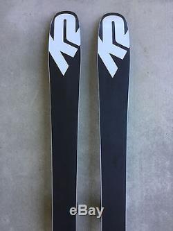 New 2017 K2 Pinnacle 88 Skis 177cm with Marker Griffon Bindings