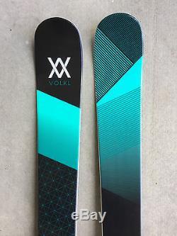 New 2017 Volkl Yumi Women's Skis 161cm with Marker FDT2 Bindings