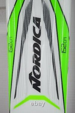 New Nordica Gt 78s Skis Size 152 CM With New Marker Bindings