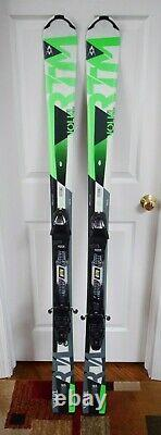 New Volkl Rtm 8.0 Skis Size 165 CM With New Marker Bindings