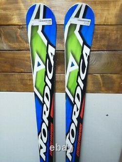 Nordica Dobermann GS 163 cm Ski + Marker 10 Bindings Winter Fun Snow