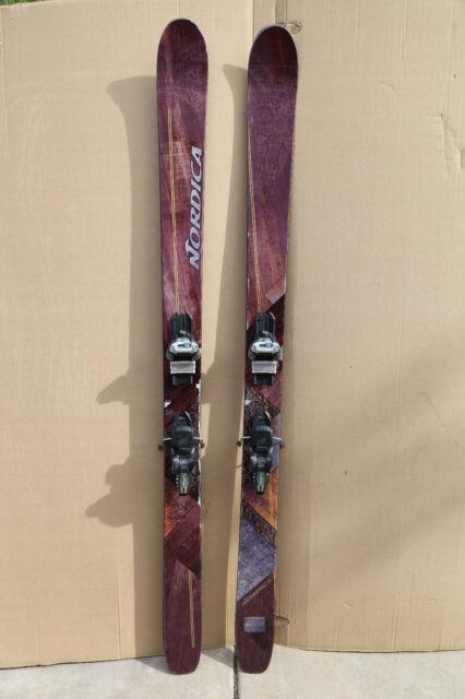 Nordica El Capo Skis 185cm With Marker Griffon Demo Bindings