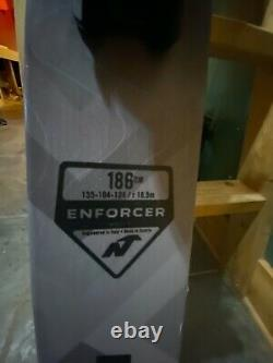 Nordica Enforcer 104 Free 186 cm 2020 Demo w Marker Griffon Demo Binding