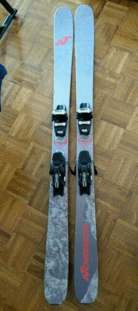 Nordica Enforcer 93 Skis 169cm With Marker Griffon Demo Bindings