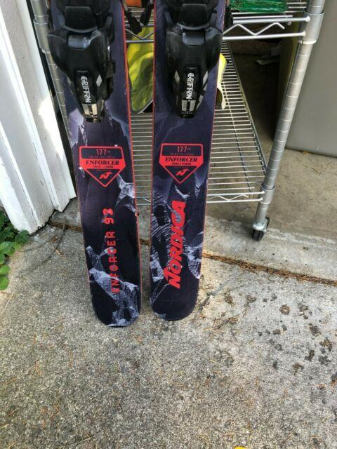 Nordica Enforcer 93 With Marker Griffon Bindings