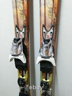 Nordica Fate XBI 162 cm Ski + Marker EVO10 Bindings Winter Sports Outdoor Snow