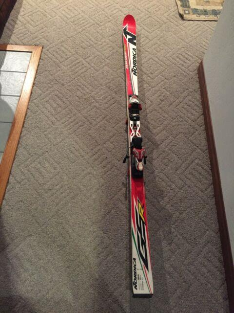 Nordica Gs Race Skis With Marker Race Bindings