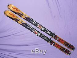 Nordica HOTROD Hot Rod Afterburner Skis 170cm with Marker N0311 Int Adj Bindings
