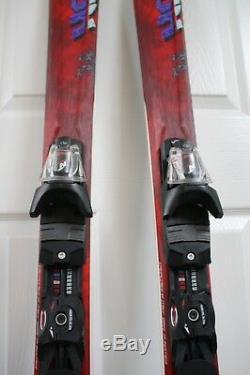 Nordica Hot Rod 74 Skis Size 160 CM Marker Bindings