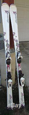 Nordica Olympia Fox Women Skis 160cm NEW with Marker N Sport Bindings
