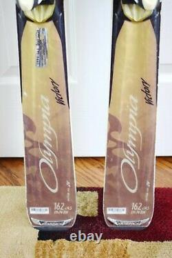 Nordica Olympia Victory Skis Size 162 CM With Marker Bindings
