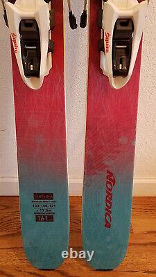 Nordica Santa Ana 100 Skis withMarker Squire Bindings 161cm length