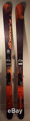 Nordica Soul Rider 185 Demo Skis with Marker Griffon bindings (DS50)