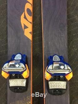 Nordica Soul Rider 185 Skis, Marker Jester Pro Bindings, Freeride Freestyle