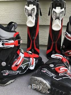 Nordica Team GT 100cm Jr Ski Pkg with Nordica Firearrow Boots & Marker Jr Bindings