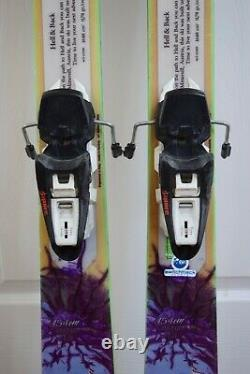 Nordica Wild Belle Skis Size 154 CM With Marker Bindings