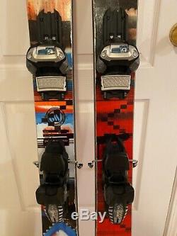 ON3P Vicik Touring skis, 161cm with Marker Griffin bindings (demo)