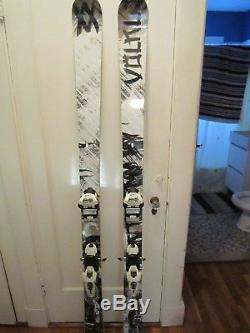 Pair of Volkl Kendo's 184 cm with Marker Jester bindings. Excellent