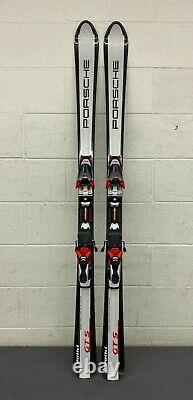 RARE Volkl Porsche GTS 154cm 114-68-99 Skis withMarker Titanium 1200 Bindings LOOK