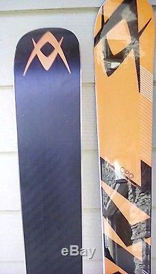 REDUCED! Volkl Race Tiger Super G Marker race plate/ bindings free Leki SG poles
